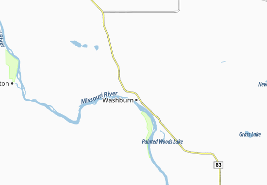 Washburn Map