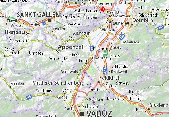 Carte-Plan Freienbach