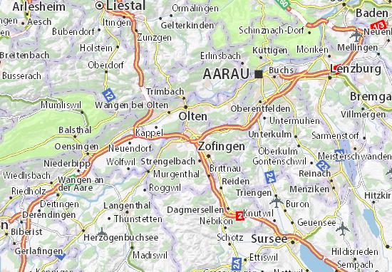 Mapas-Planos Oftringen