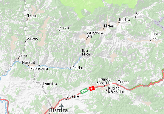 Kaart Plattegrond Ilva Mica