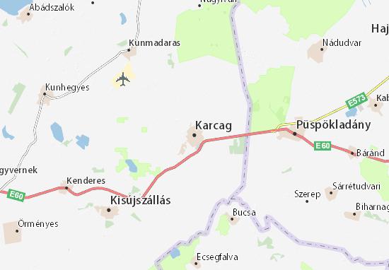 Mappe-Piantine Karcag