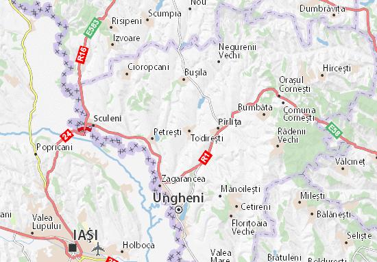 Mapas-Planos Todireşti