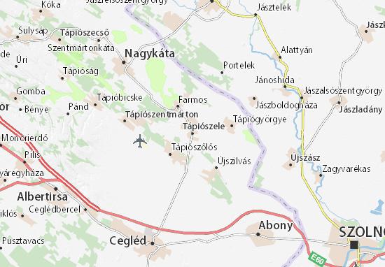 Mapas-Planos Tápiószele