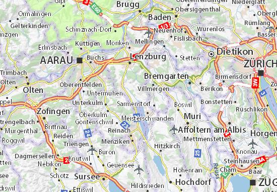 Mapa Plano Seengen