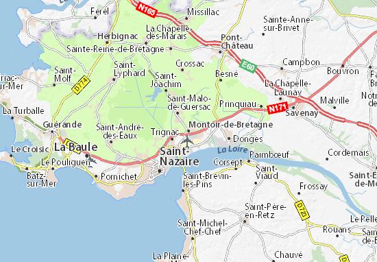 Mappe-Piantine Montoir-de-Bretagne