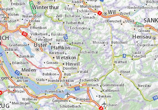 Fischenthal Map