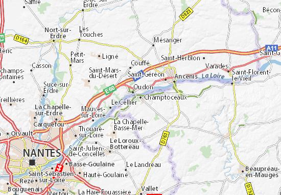 Mapas-Planos Champtoceaux