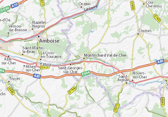 Mappe-Piantine Montrichard Val de Cher