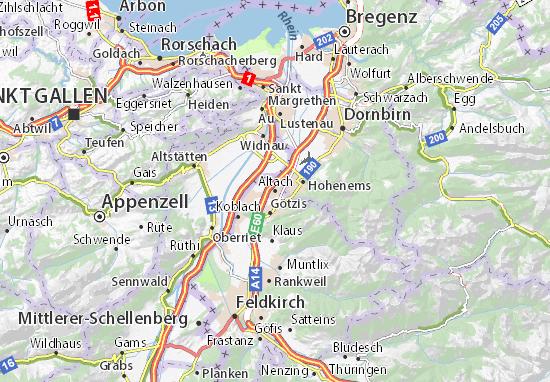 Carte-Plan Altach