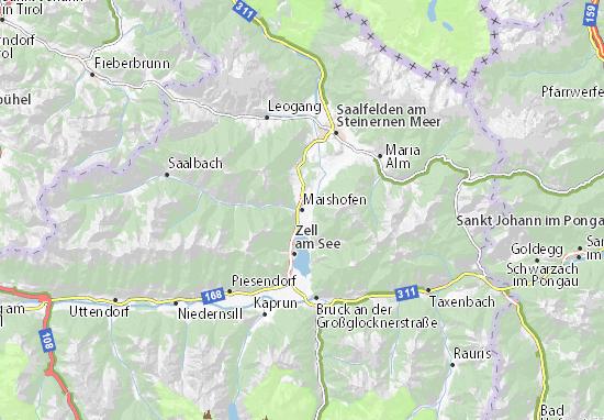 Mapas-Planos Maishofen