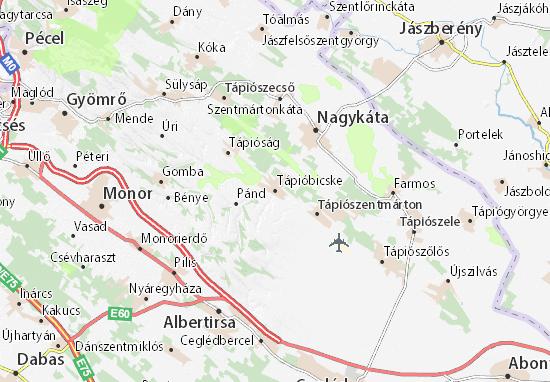 Carte-Plan Tápióbicske