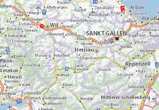Degersheim Map