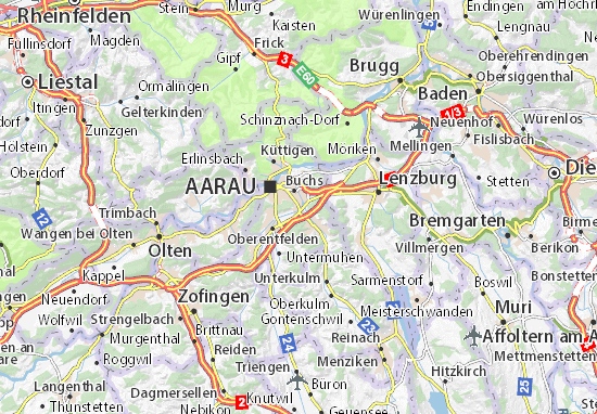 Carte-Plan Suhr