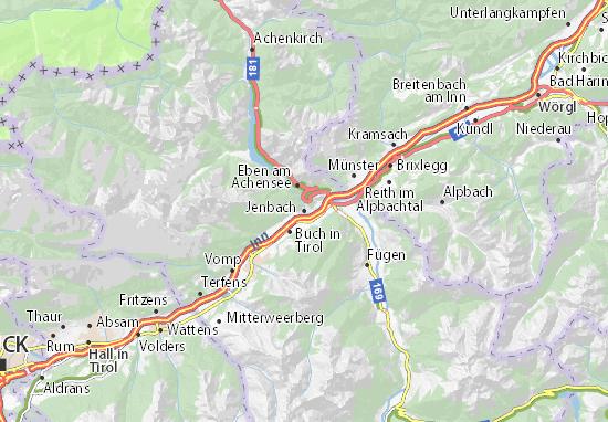 Jenbach Map