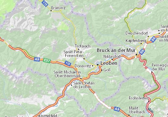 Mapas-Planos Sankt Peter-Freienstein
