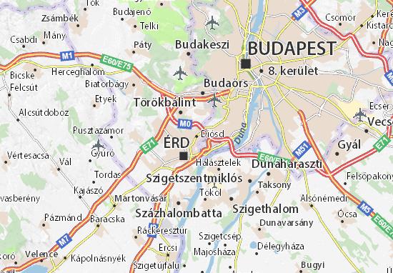 Mapas-Planos Diósd