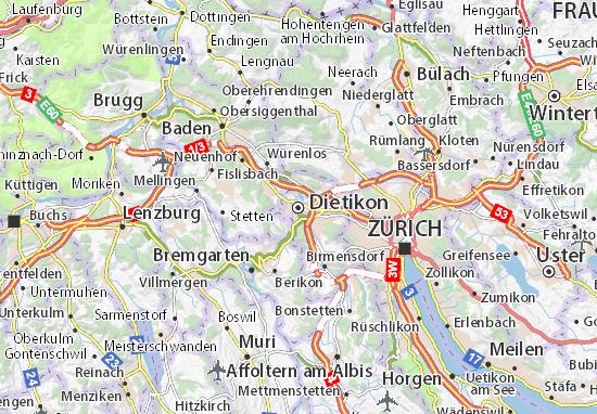 Dietikon Map