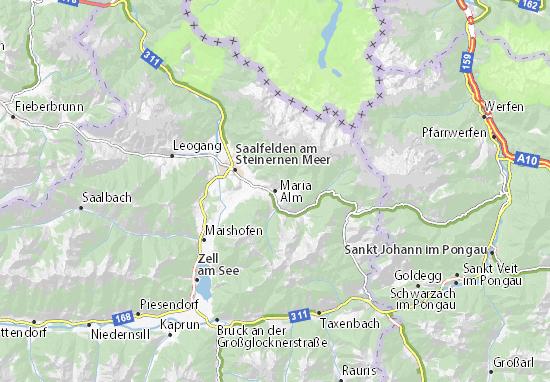 Maria Alm Map