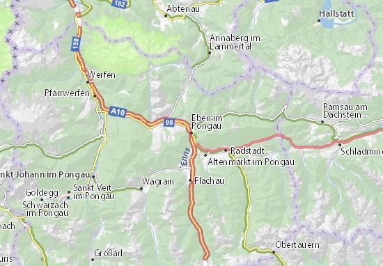 Eben im Pongau Map