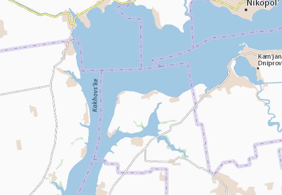 Mapa Plano Ushkalka