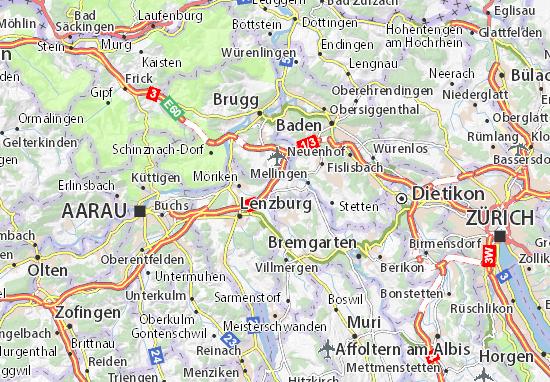 Mapas-Planos Mägenwil
