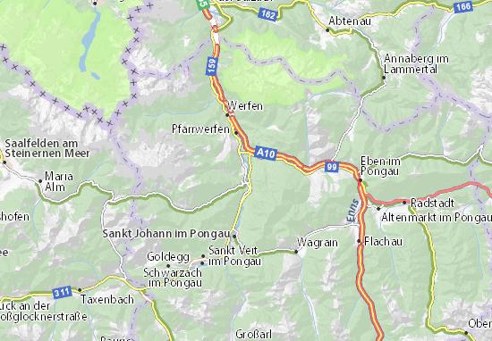 Bischofshofen Map