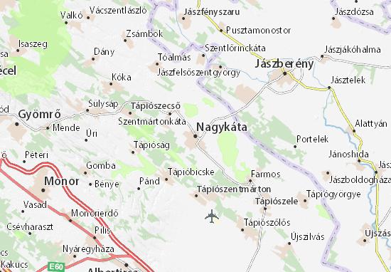 Mapas-Planos Nagykáta
