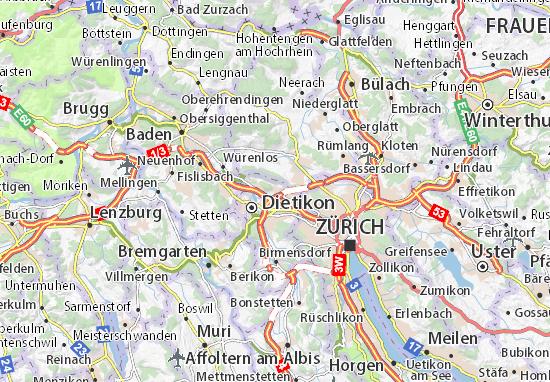Mappe-Piantine Weiningen