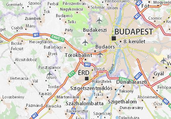 Mapas-Planos Törökbálint