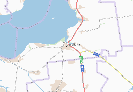 Carte-Plan Vasylivka