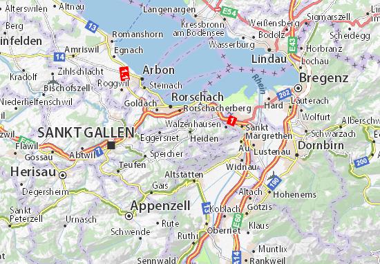 Heiden Map