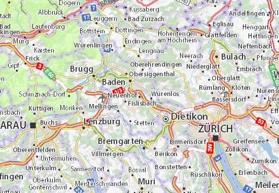 Karte Stadtplan Neuenhof