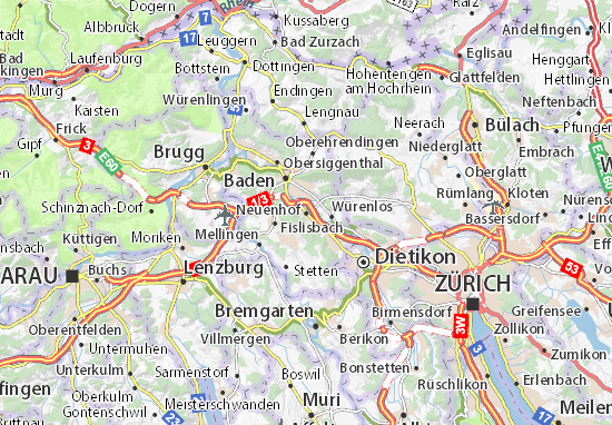 Carte-Plan Neuenhof