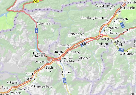 Carte-Plan Kramsach