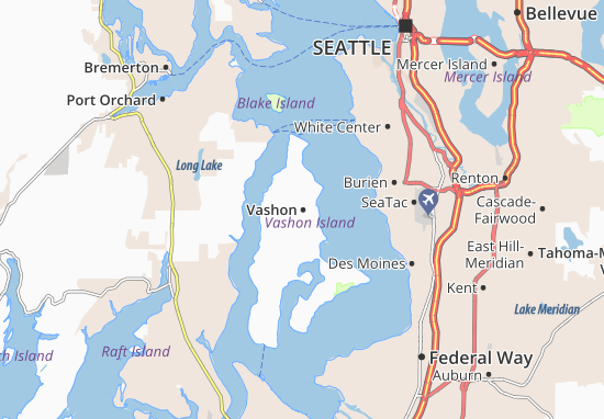 Vashon Map
