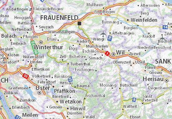 Bichelsee Map