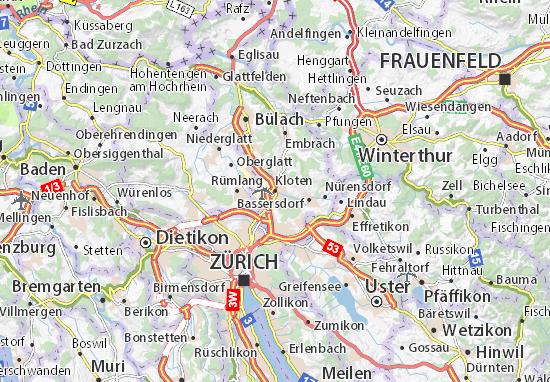 Mapas-Planos Kloten