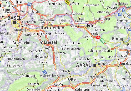 Kaart Plattegrond Ormalingen