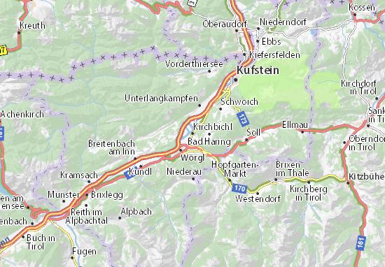 Carte-Plan Kirchbichl