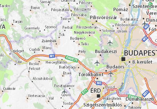 Páty Map