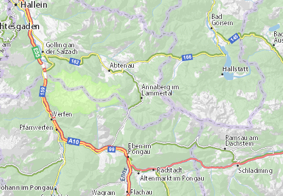 Carte-Plan Annaberg im Lammertal