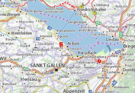 Carte-Plan Arbon