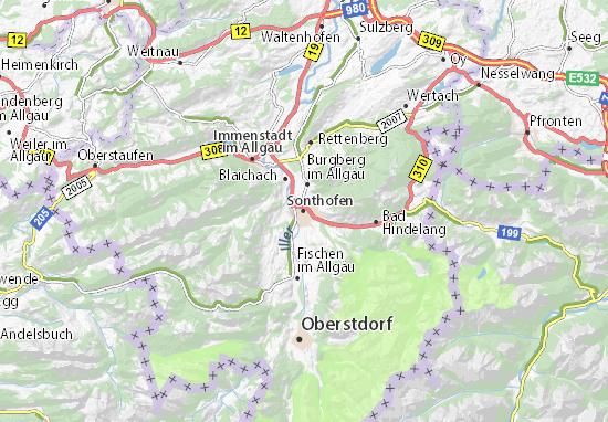 Sonthofen Map
