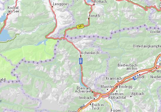 Mapas-Planos Achenkirch