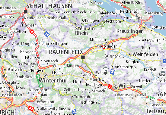 Frauenfeld Map