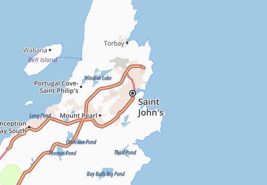 Saint John's Map