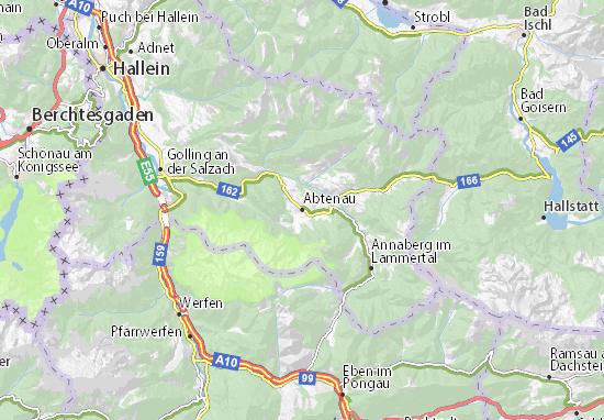 Abtenau Map