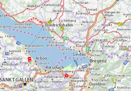 nonnenhorn bodensee karte Karte, Stadtplan Nonnenhorn   ViaMichelin