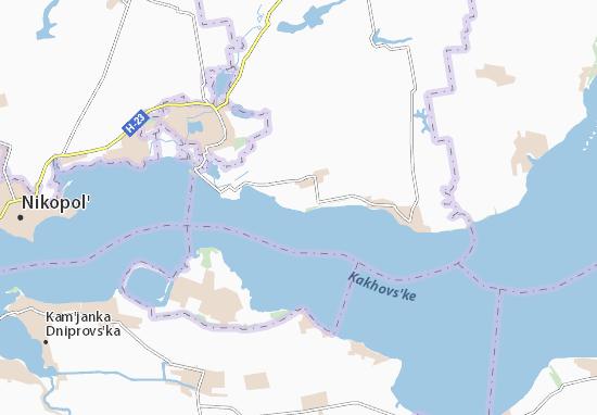 Carte-Plan Novokam'yanka