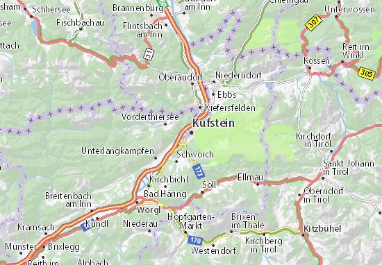 Carte-Plan Kufstein